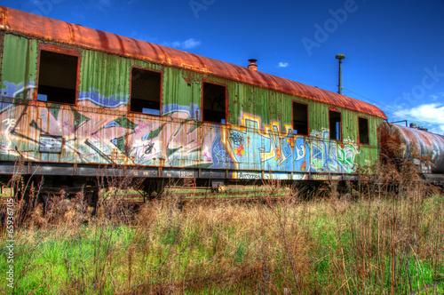 canvas print picture Eisenbahn  Reise