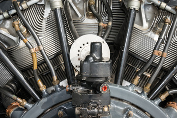 Radial aero engine