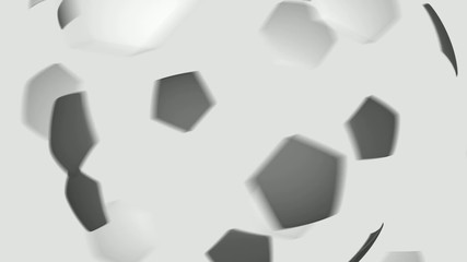 Soccer Ball from patches - version 2.