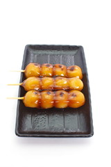 mitarashi Dango lapanese dumpling and sweet