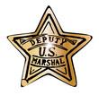 Постер, плакат: Deputy US Marshal Star
