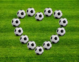 Fußballherz