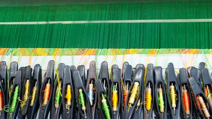 Yarn for weaving loom.