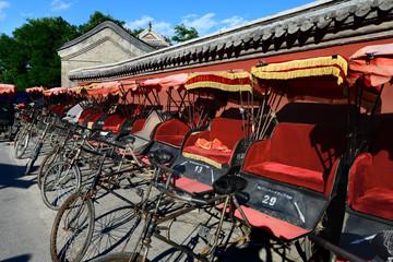Rickshaws in China