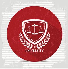 Justice badge symbol,vector