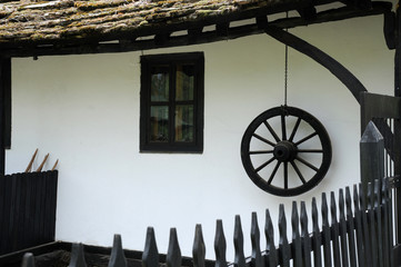 Part of Traditional Bulgarian House