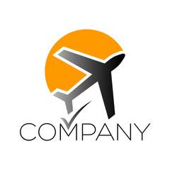 логотип самолет
