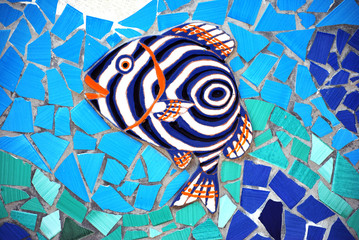 Ceramic Fish the Amalfi Coast, Italy