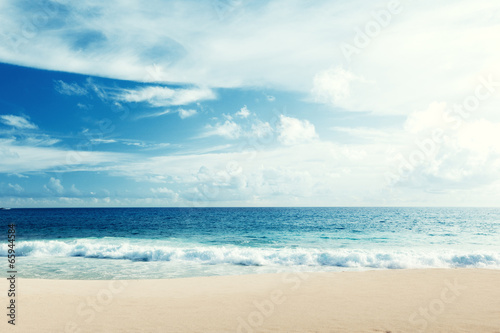 canvas print picture tropical beach
