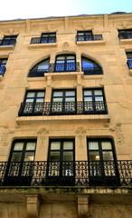 Arrasate street facade-Donostia