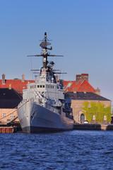 Danish battleship