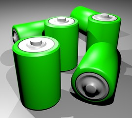 Many battery