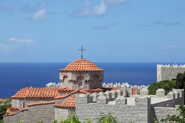 Kloster Evangelismos auf der Insel Patmos