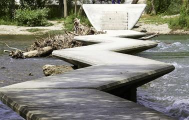 Puente en zig zag