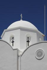Kirche auf der griechischen Insel Patmos