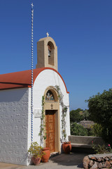 Kapelle auf der Insel Patmos, Griechenland