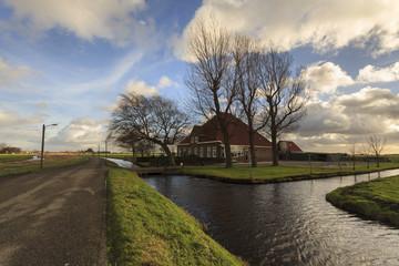 Fazenda de Volendam na Holanda
