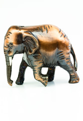 Elephant made of iron
