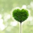 Baum in Form eines Herzens