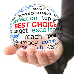 Concept of best choice