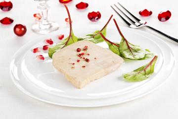 Repas de fêtes Foie gras