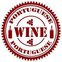 Portuguese Wine-stamp