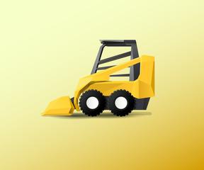 Vehicle - Bobcat bulldozer