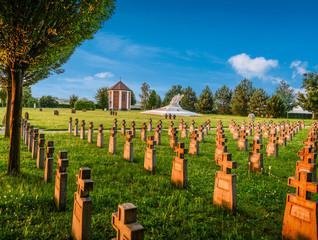 Soldatenfriedhof in Mauthausen
