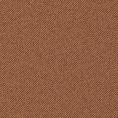 Seamless texture of brown denim diagonal hem