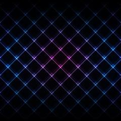 Abstract neon light black texture vector illustration