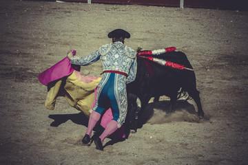 torero, bullfight, traditional Spanish party where a matador fig