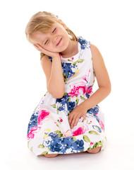 Soulful little girl.