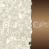 Coffee Hand-Drawn Vector Illustration.