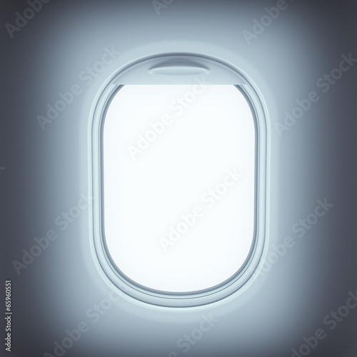 Window of airplane - 65960551