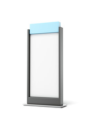 Black Advertising stand
