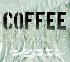 Kaffeesack - Hintergrund
