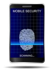 Smartphone Fingerabdruck Sensor