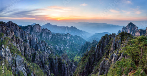 Papiers peints Chine Huangshan Mountains