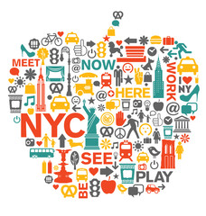 New York City icons and symbols