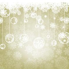 Beautiful elegant happy Christmas card. EPS 8