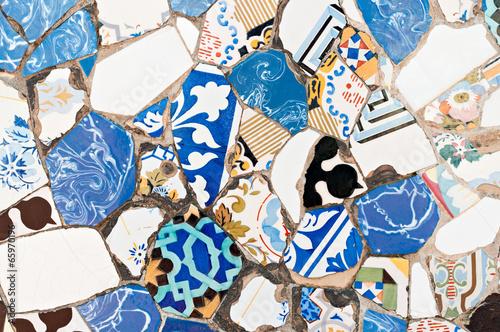 Zdjęcia na płótnie, fototapety, obrazy : Mosaics Antonio Gaudi