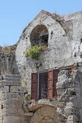 altes Gebäude in der Altstadt von Rhodos