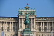 Equestrian statue of Archduke Charles of Austria in Vienna