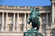 Statue of Emperor Joseph II at he Hofburg Palace in Vienna