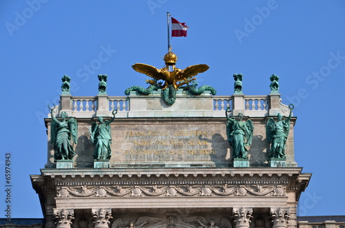 Imperial Eagle at he Hofburg Palace in Vienna