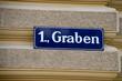 Vienna, Austria - famous Graben street.