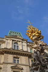 Pest Column on Graben in Vienna