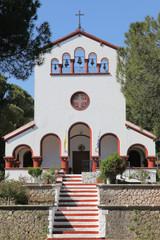 Kirche in Eleoussa auf Rhodos, Griechenland