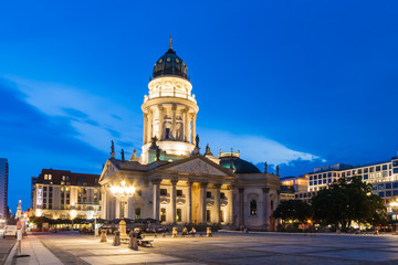German Cathedral in Gendarmenmarkt Berlin