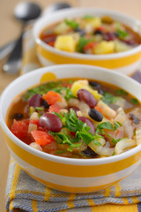 Three bean soup